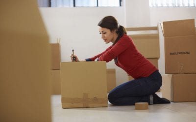 How a Professional Organizer Organizes a Move + An Update on Abrams Home Solutions