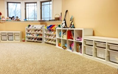 Six Tips to Easily Organize a Playroom