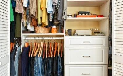 Closet Organizing Made Easy
