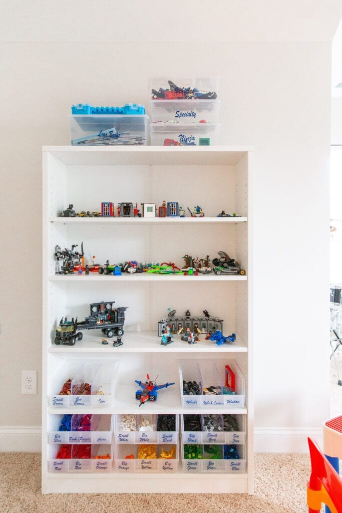 systems for lego organizing